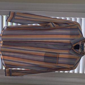 Tommy Bahama men's XXL striped shirt. EUC